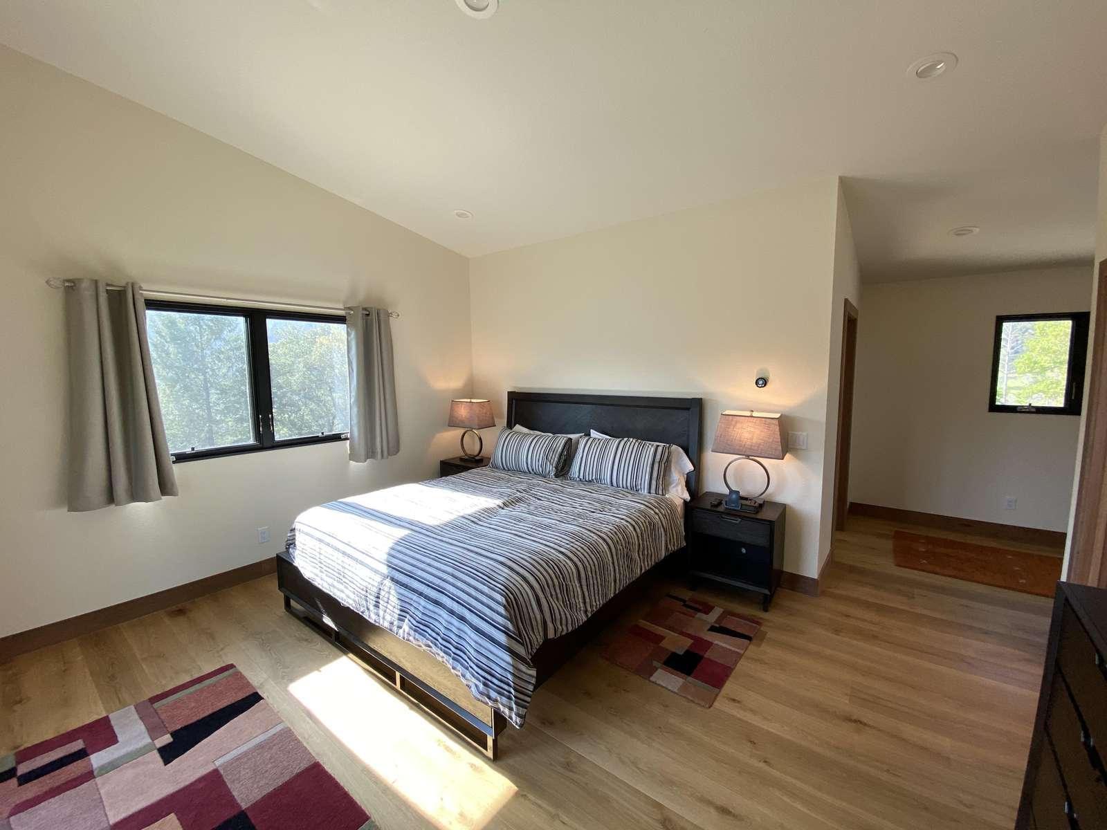 Bedroom 3: Master Suite w/ Ensuite Bath