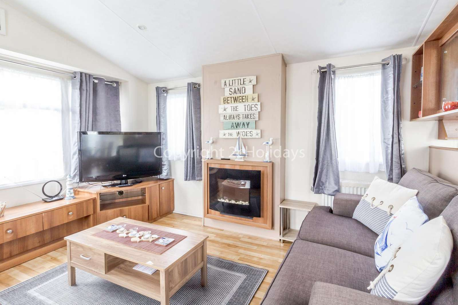 Homely living area, ideal for families!