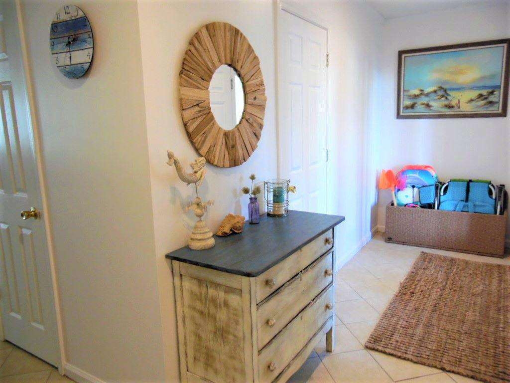 Entry Way with Beach items