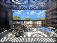 The private balcony, overlooking the amazing natural beauty of Sapphire Beach. thumb