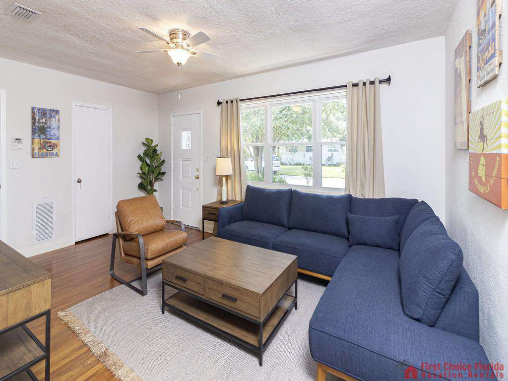 Deja Blue Living Room