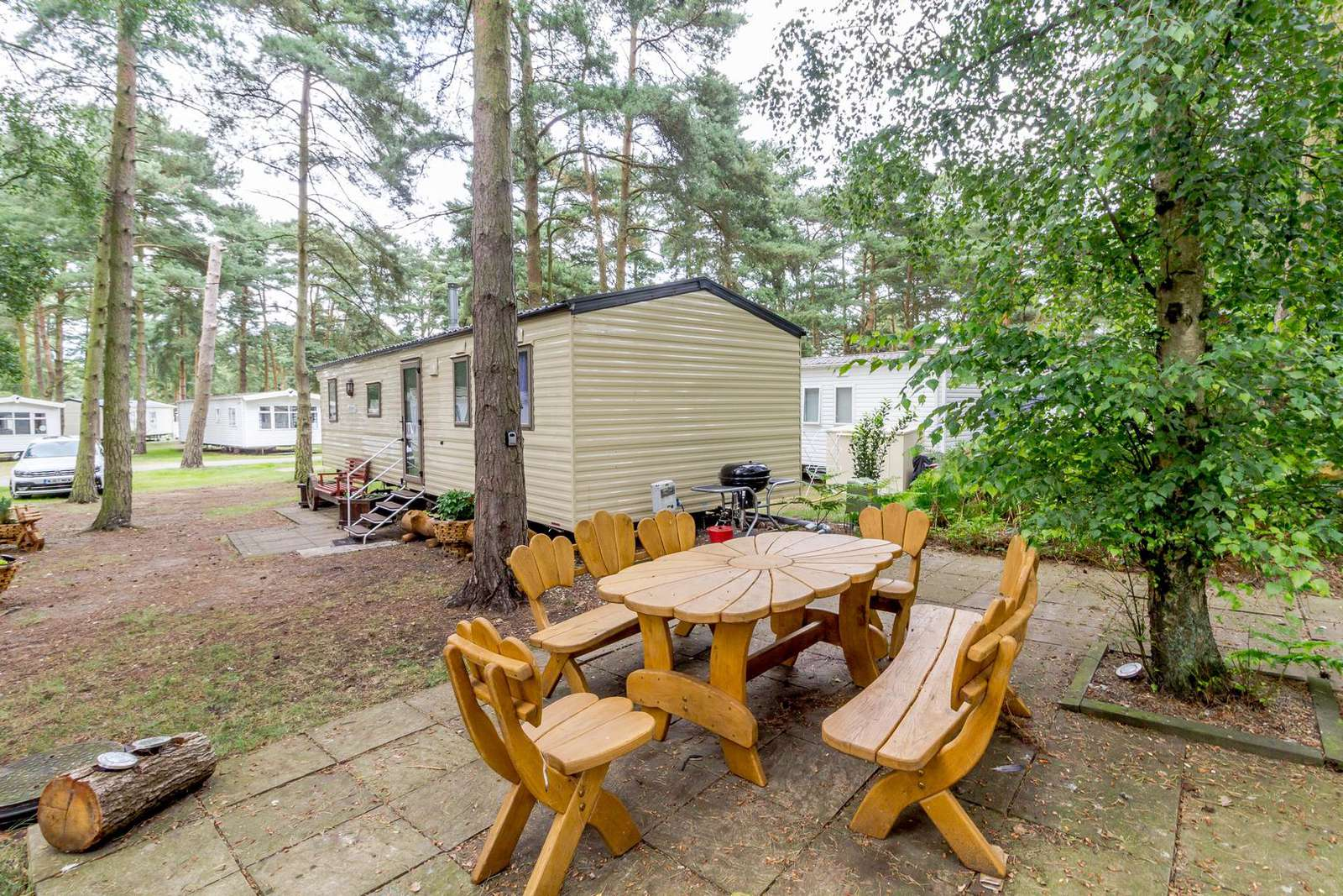 Enjoy use of outdoor furntiure at this accommodation