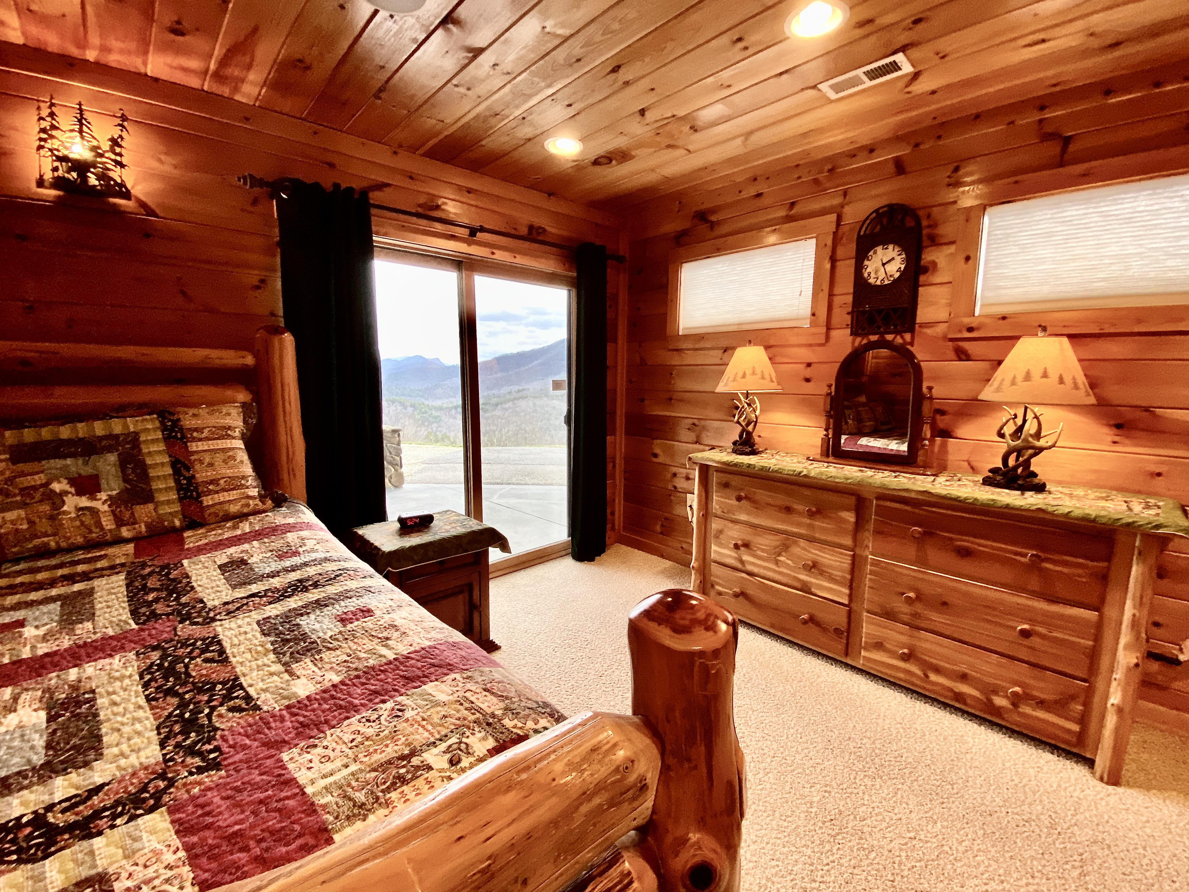 Right View of the Master Bedroom
