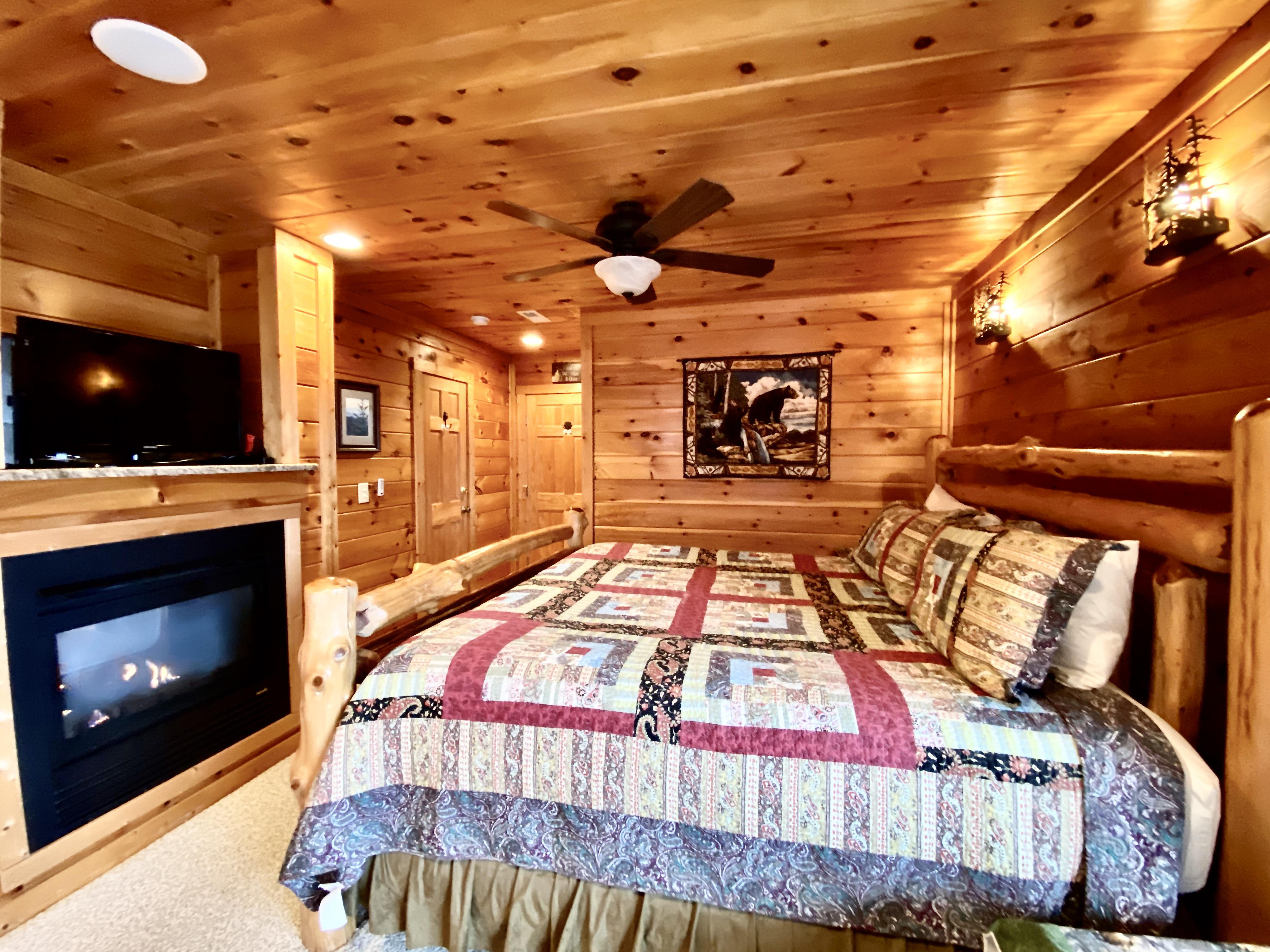 Master Bedroom offers a Romantic Ambiance