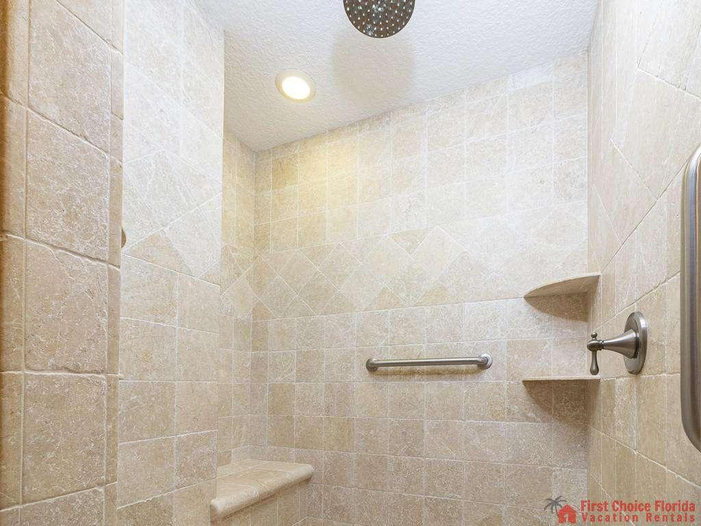Lighthouse Watch First Floor Master Bath Shower