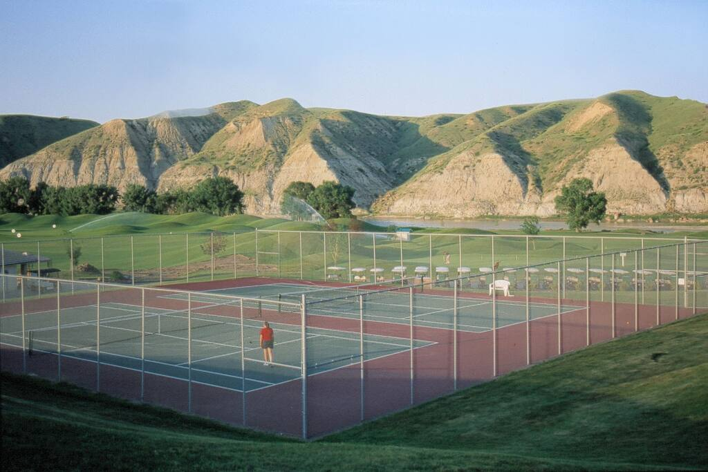 Sports Courts at the clubhouse