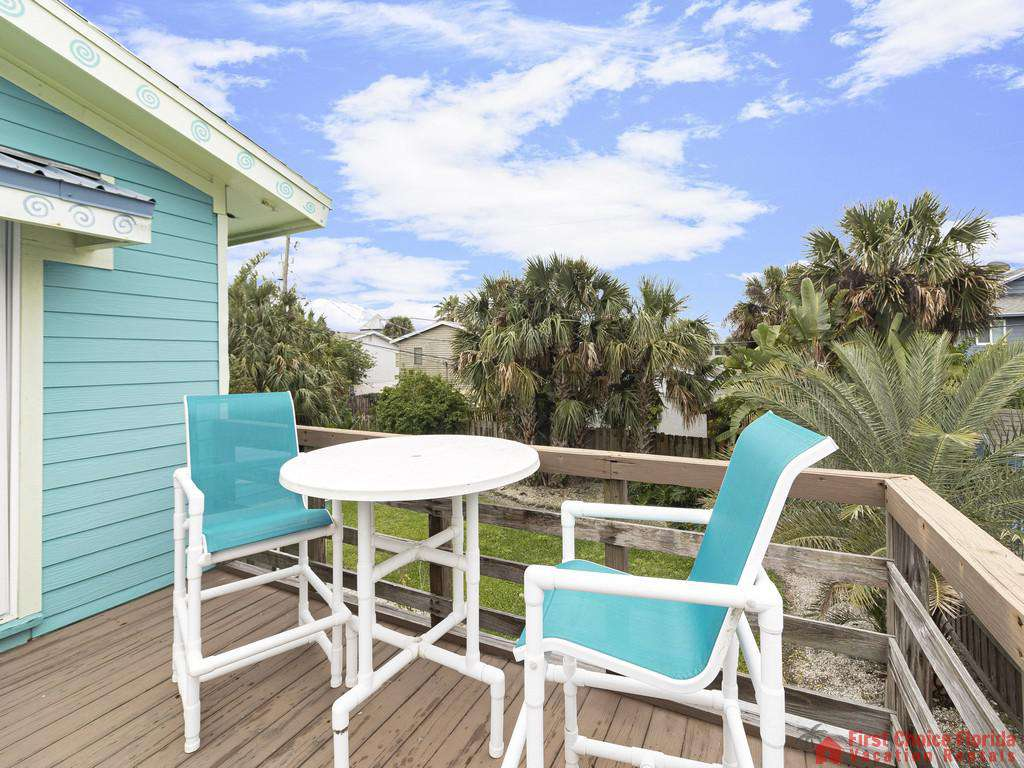 Coastal Cottage B - Deck