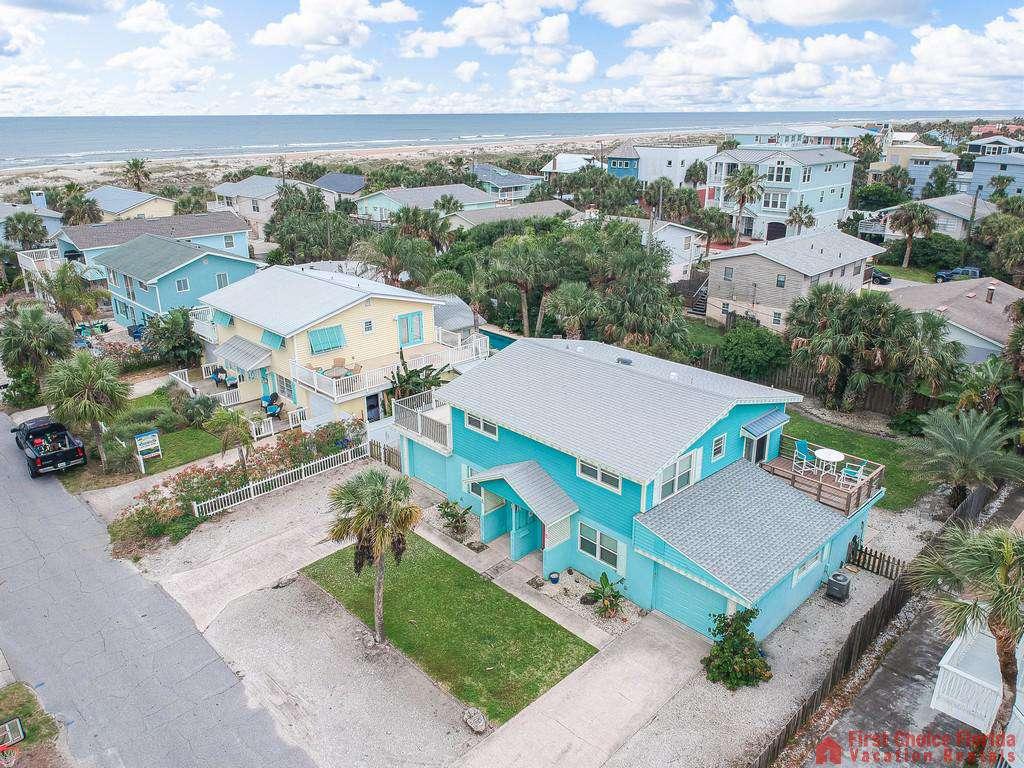 Coastal Cottage B Aerial