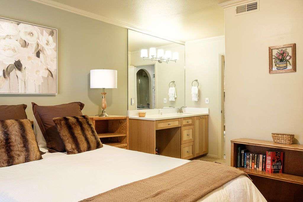 First floor Master Bedroom with in room vanity and ensuite bathroom