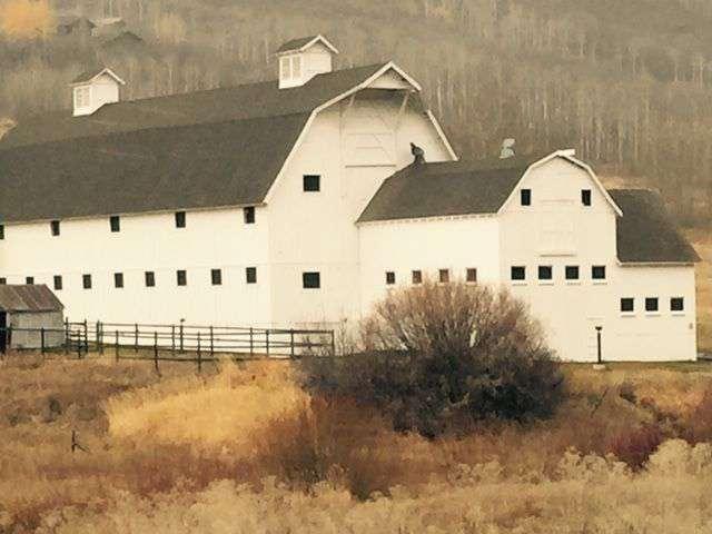 Iconic Park City Barn