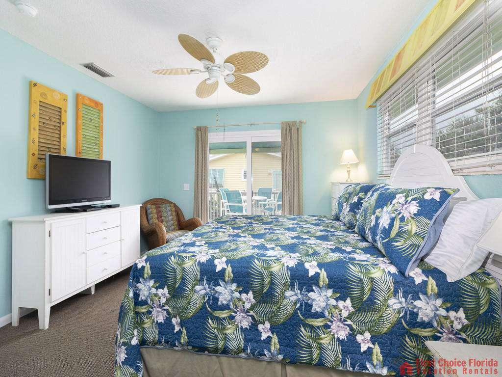 Coastal Cottage A - King Bed