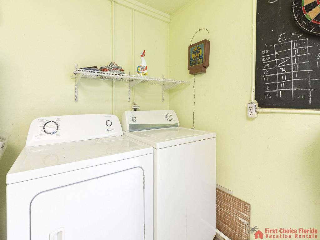 Coastal Cottage A - Washer & Dryer