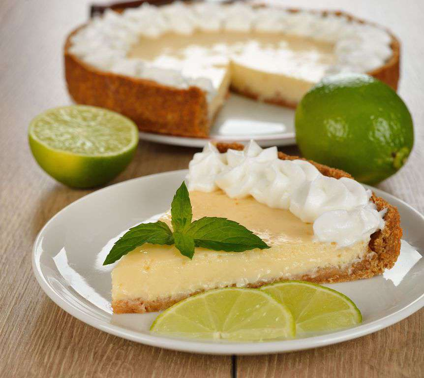 Key Lime Pie ! Famous for our local must try and try again !!