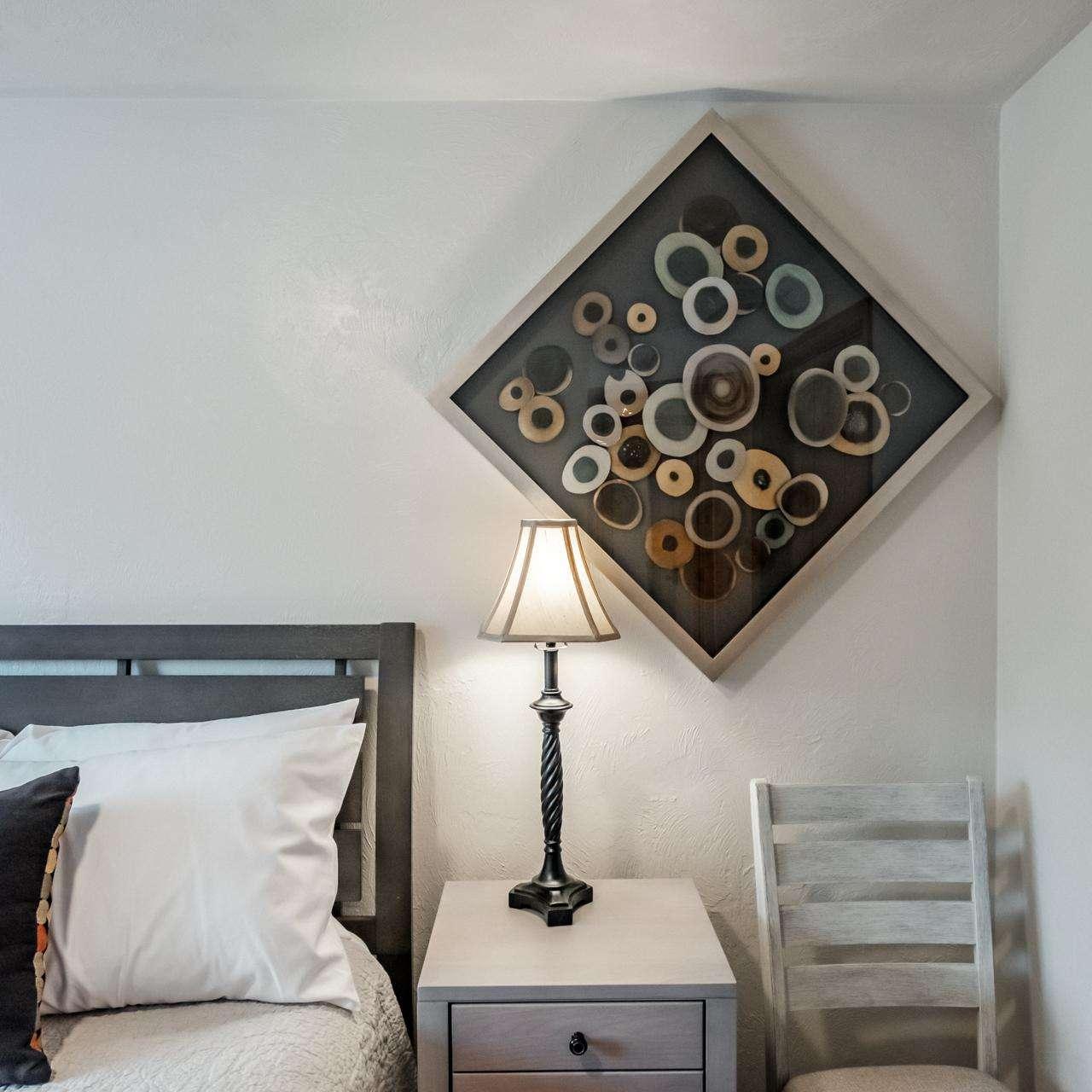 Bedroom 2 - Fun art