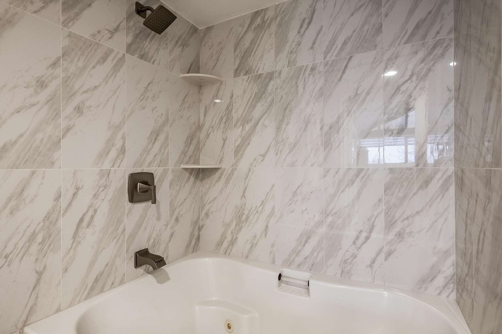 Master shower and tub combo