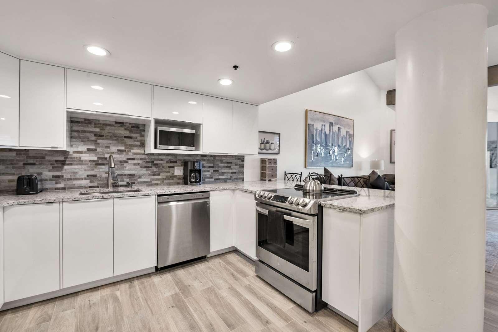 Brand new stylish kitchen