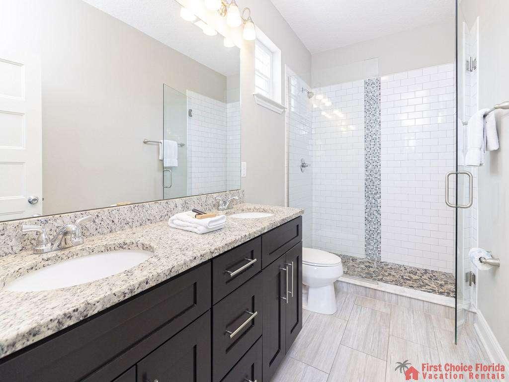 Sea View Second Floor Vanity with walk-in Shower