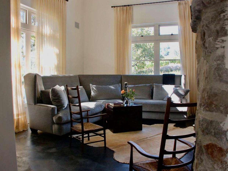 Living area in Villa 1