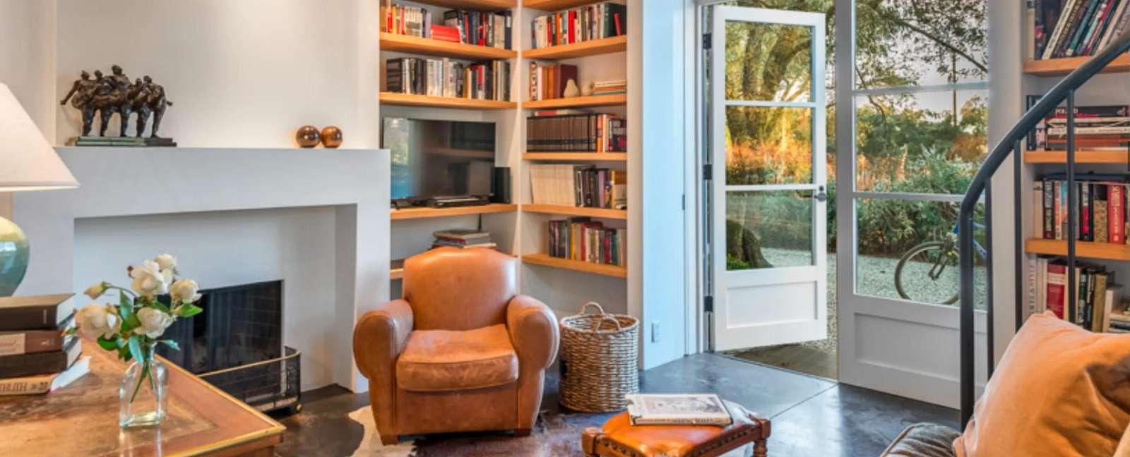 Living area in Villa 2