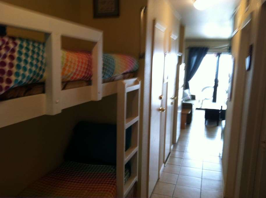 kids LOVE these bunkbeds