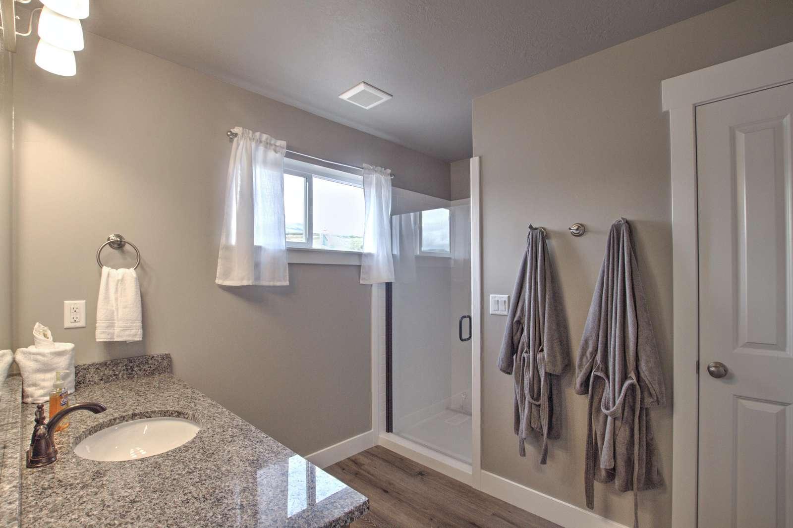 Master Bathroom / Shower