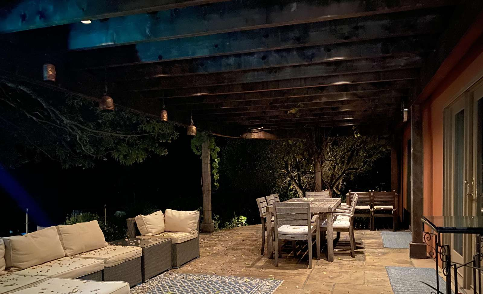 Beautiful loggia for dining and relaxing