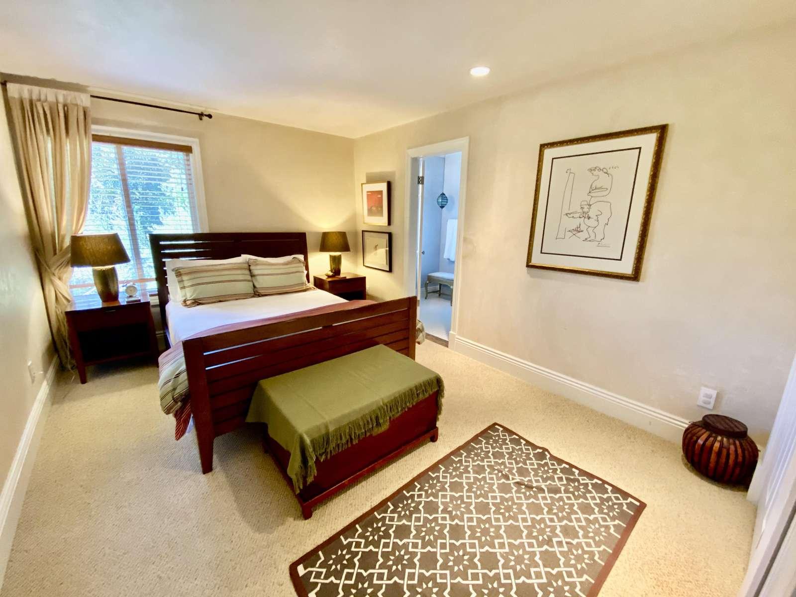 Bedroom 2 (queen) with ensuite full bath