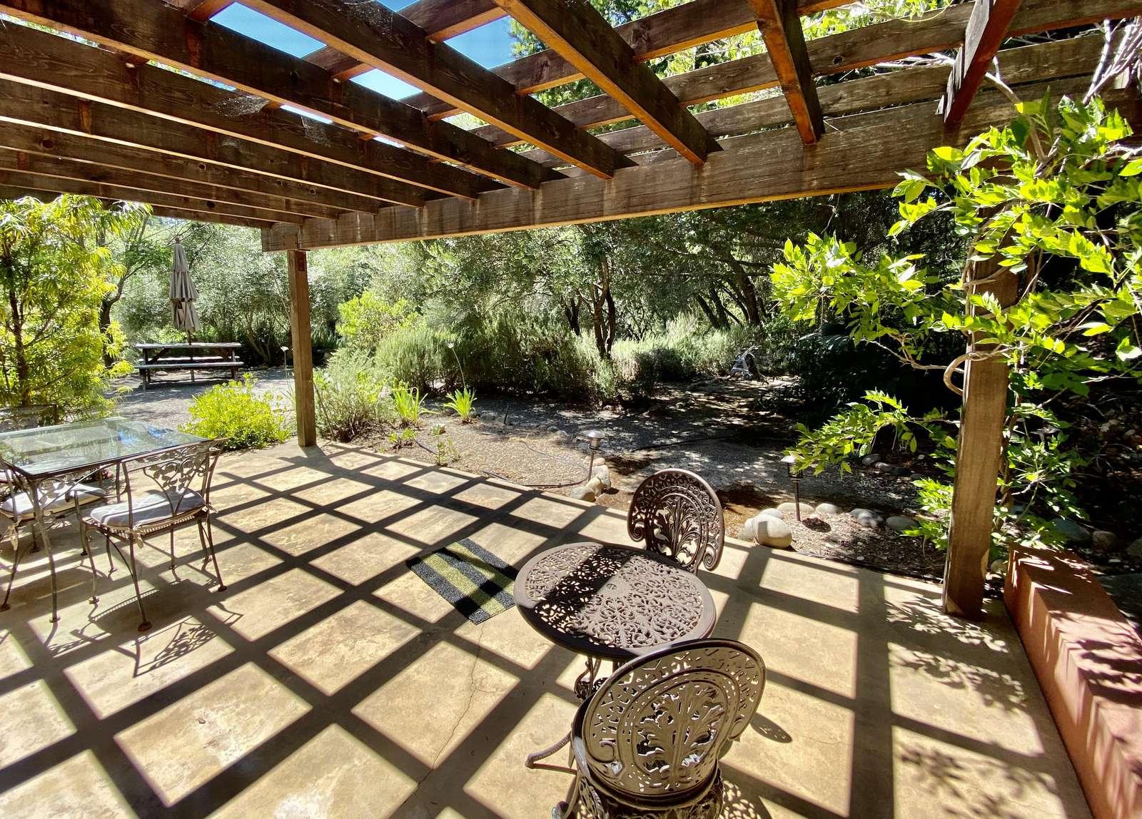 Terrace garden off bedroom 5