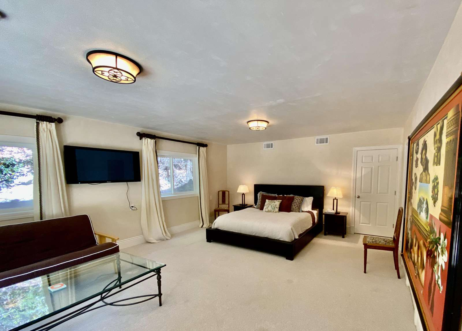 Lower level bedroom 5 (King) with ensuite full bath