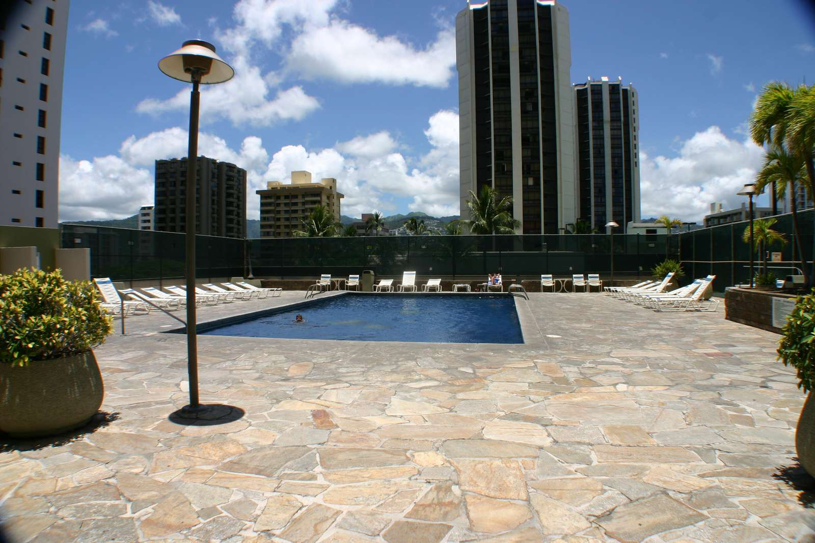 Pool and Recreation Deck