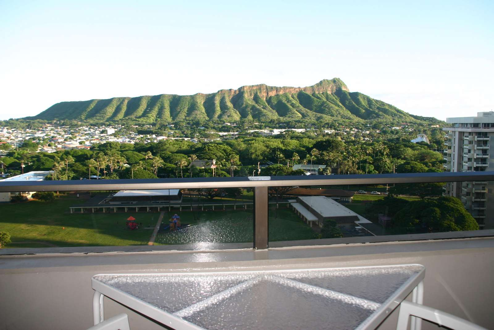 Iconic Diamond Head View from the Lanai!