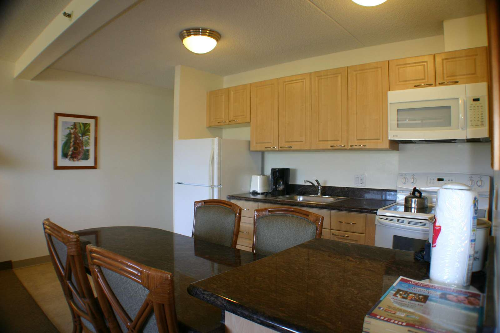 Fully Equipped Kitchen to Enjoy Home-Cooked meals