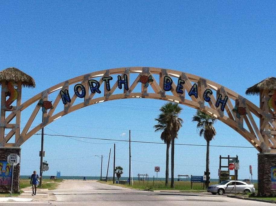 Welcome to Corpus Christi's North Beach!