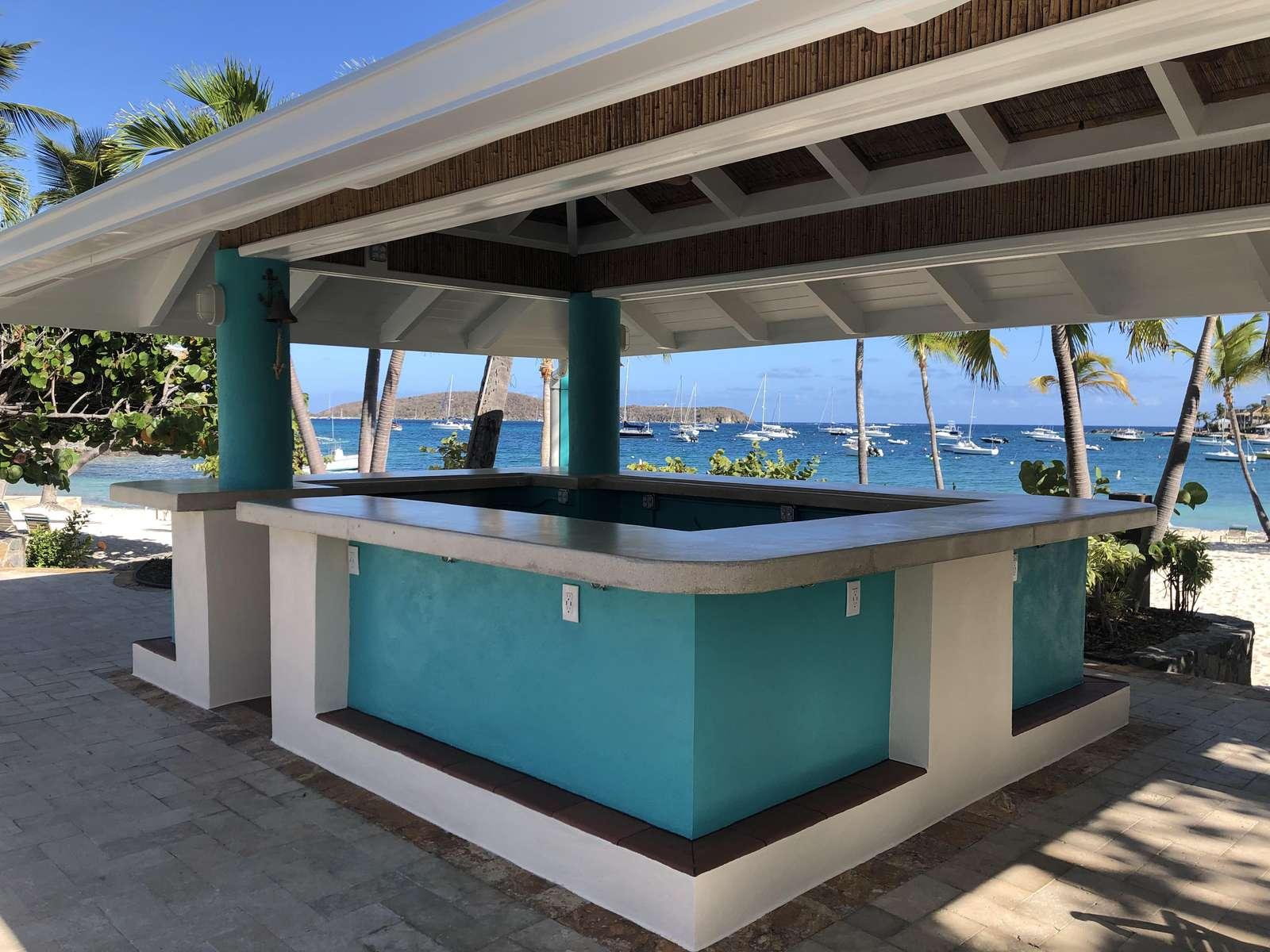 New Pool/Beach Bar, Opening 2021