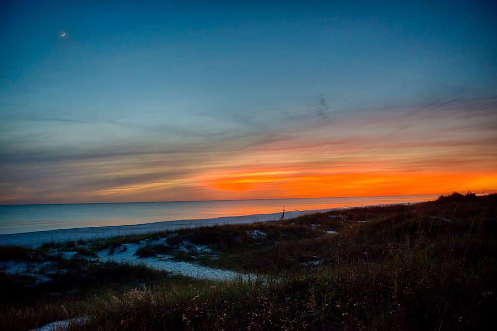 Beautiful Sunset on Panama City Beach