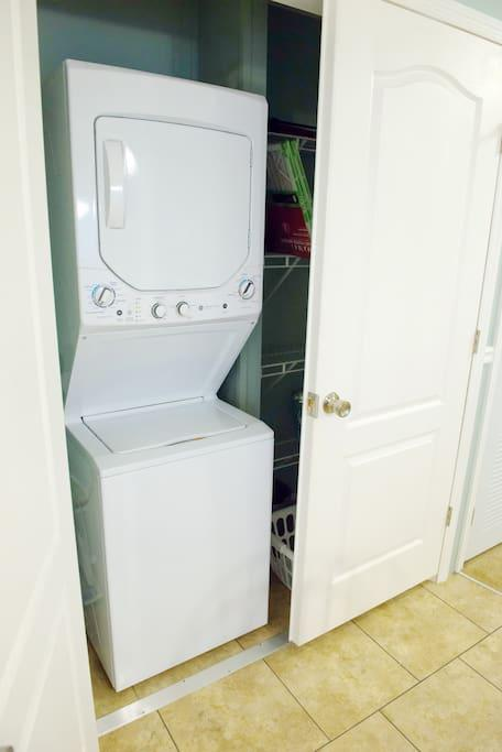 Laundry Room with Washer / Dryer Combo