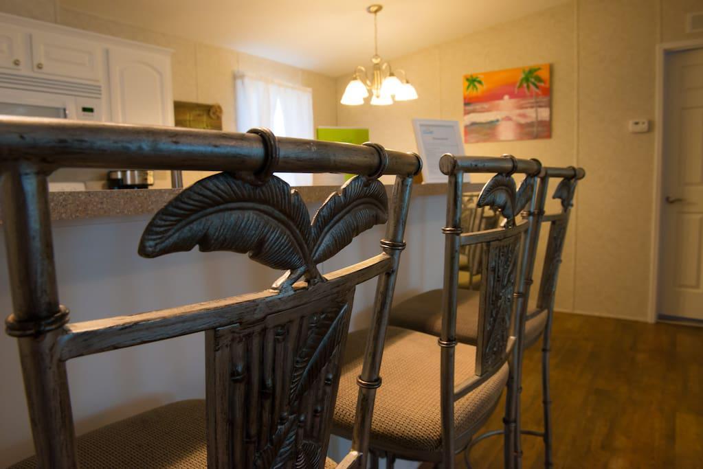 Bar Chairs at Kitchen Bar