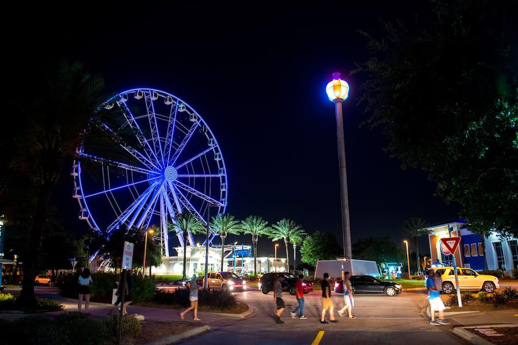 3 miles to Pier Park...New Sky Wheel