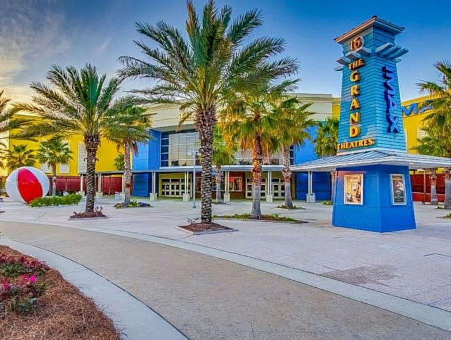 Take in a Movie at The Grand Theatre in Pier Park