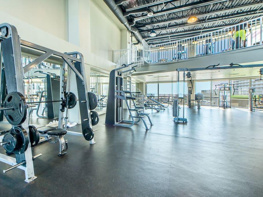 Gym on same floor as our Unit...4th Floor