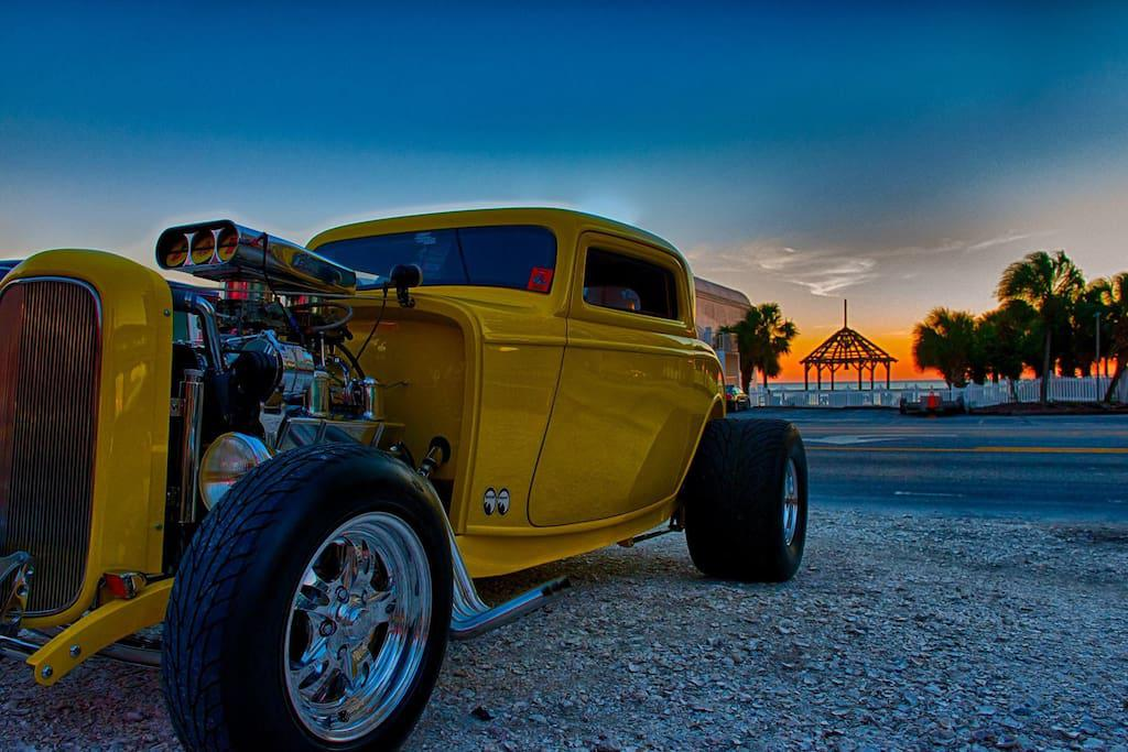 Twice a year we have a Antique Car Show at Pier Park in Panama City Beach