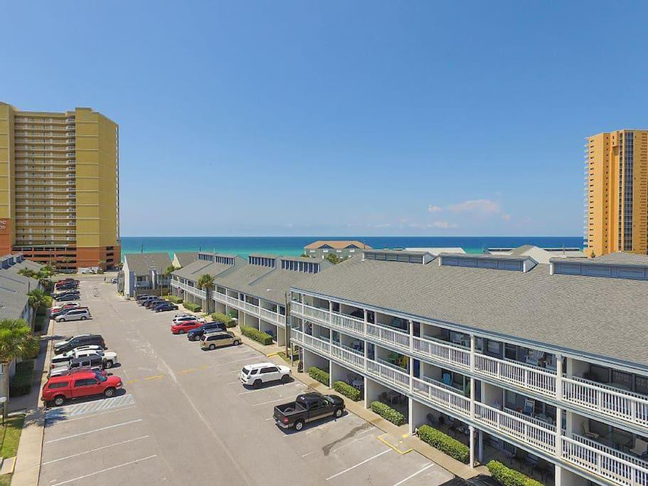 Drone View of Southwind Condominiums