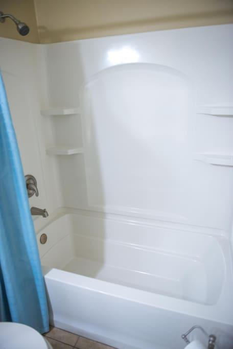 Master Bath with Shower / Tub Combo