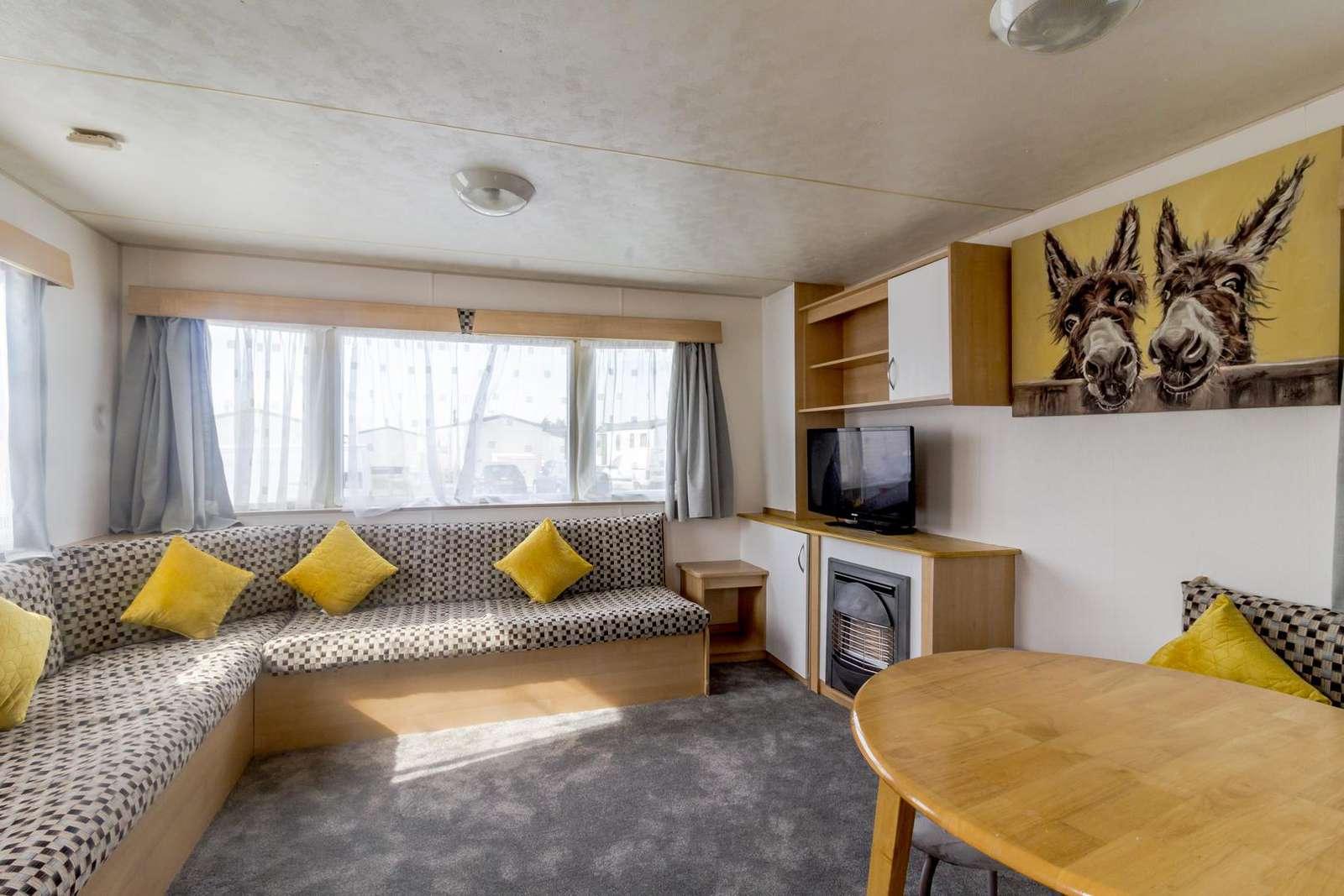 Very modern and spacious lounge