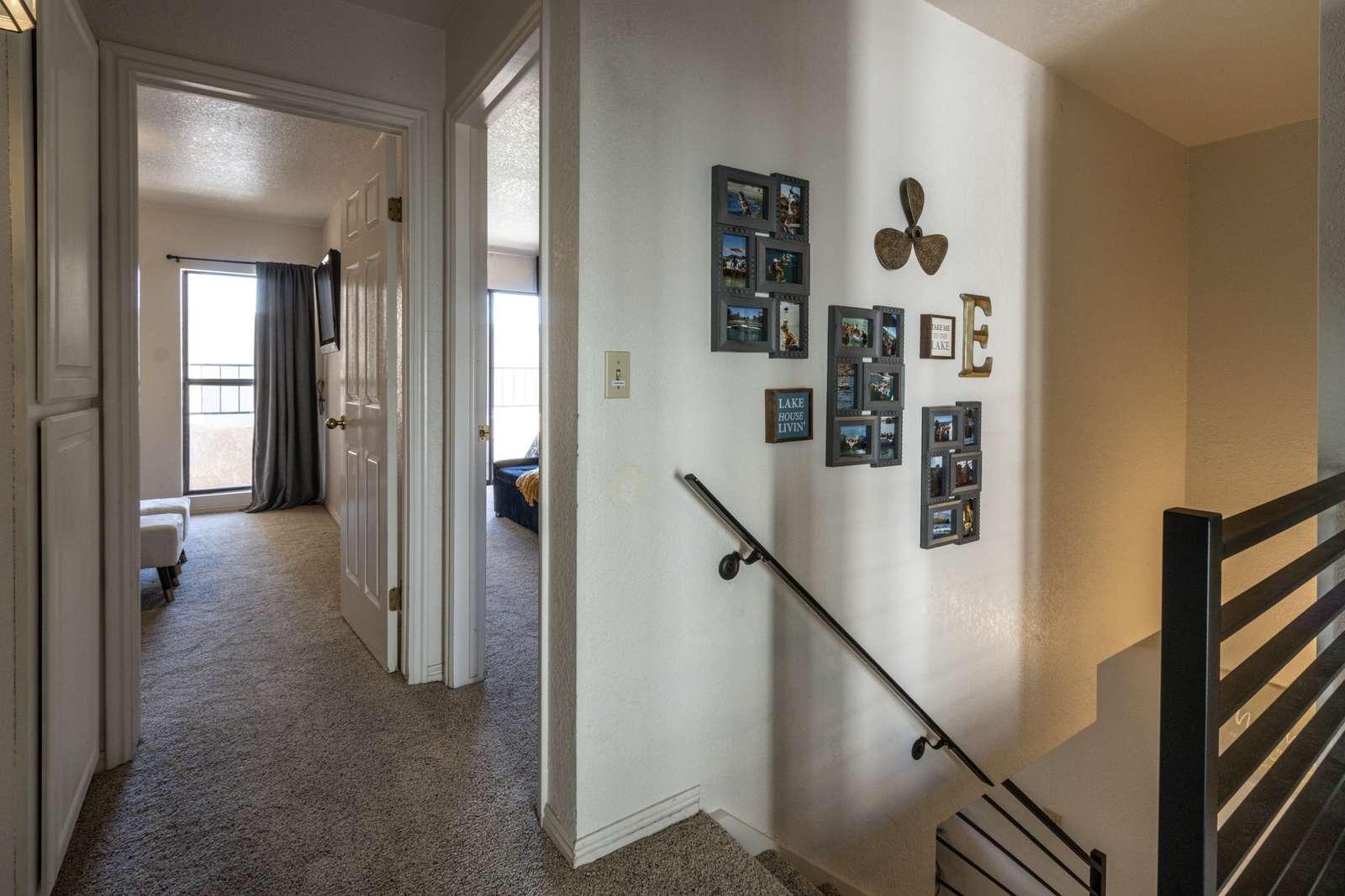 Upstairs Hallway