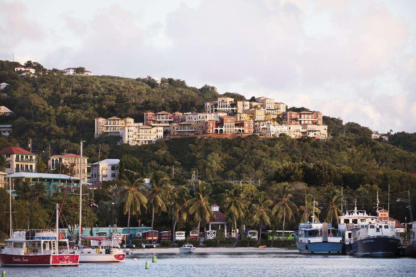 Sirenusa Residences from Cruz Bay