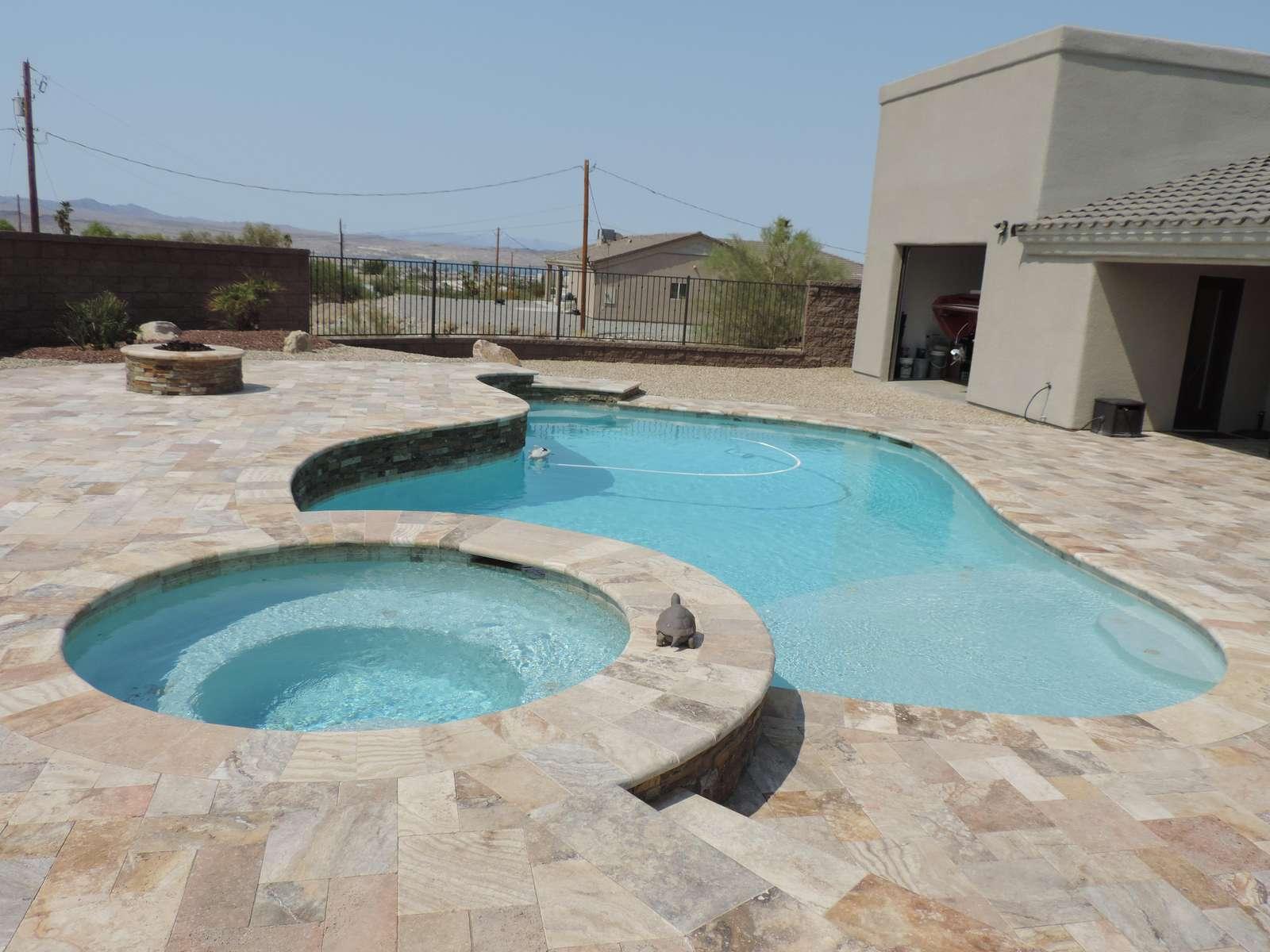 Masterfully designed backyard