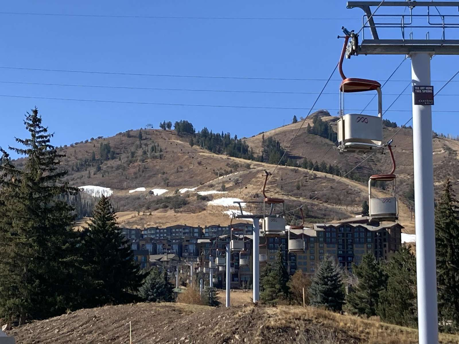 The Cabriolet Gondola takes you to the Canyons Village of the Park City Mountain Resort