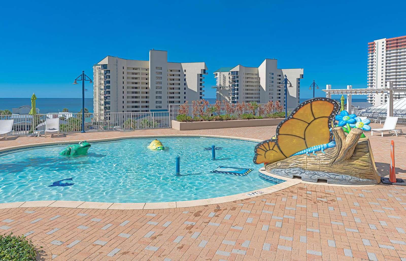 The children's Splash Pad will ensure great memories!