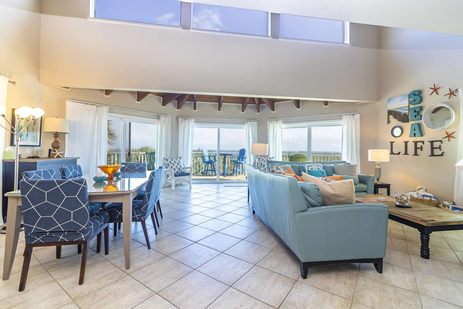 Ocean Sunrise - Open Concept